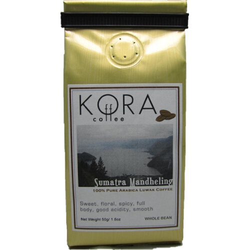 Pure Authentic Sumatra Arabica Kopi LUWAK Civet Coffee Bean 50 g